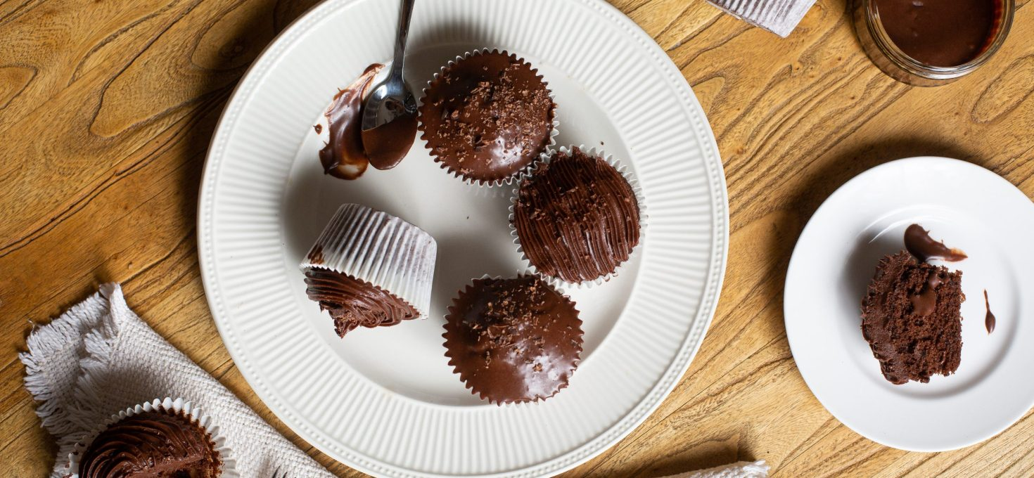 The BEST EVER Chocolate Cupcakes