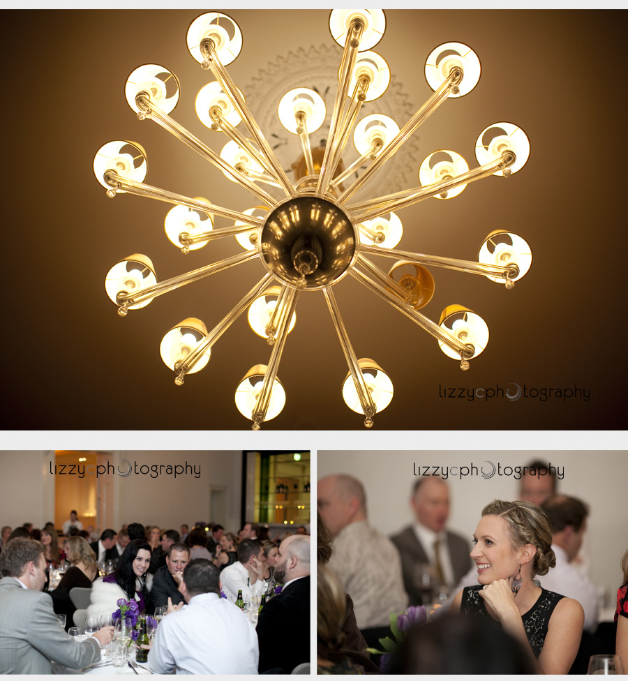 Relaxed wedding reception Comme