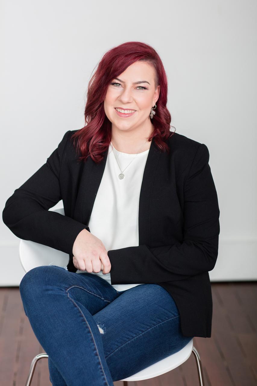 Relaxed Melbourne business women portrait