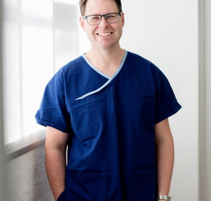 Portrait of medical professional Melbourne