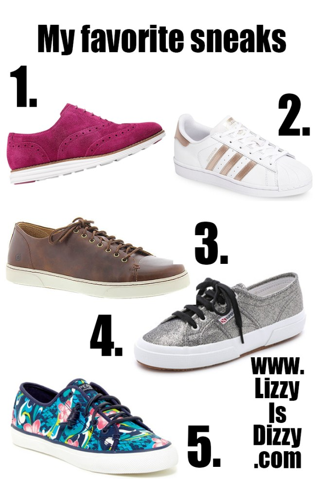 My favorite sneakers for adding some whimsey to your wardrobe!