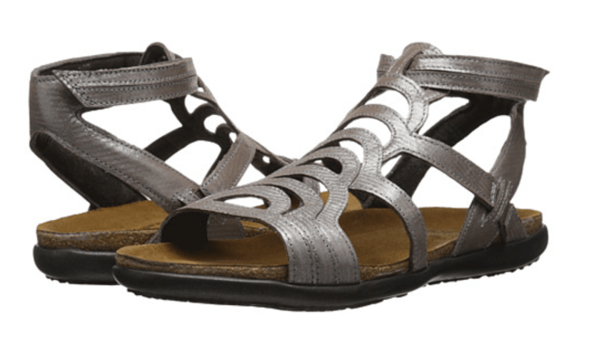 Naöt Gladiator sandals are my favorite summer shoes for travel!