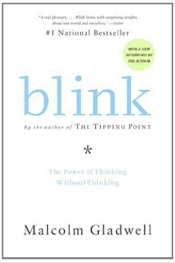 Blink: The Power of Thinking Without Thinking - one of the seven books I read in April!