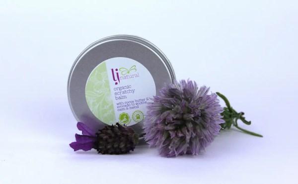 Organic Scratchy Balm, natural eczema cream uk