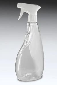 empty spray bottle