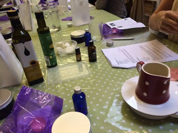 Organic products workshop