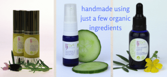 handmade using just a few organic ingredients uk