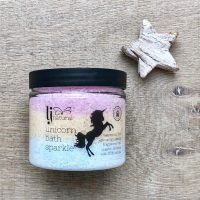 unicorn bath sparkle handmade natural bath salts