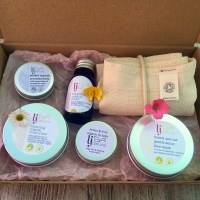 Summer Spa Gift Box handmade organic sustainable beauty products