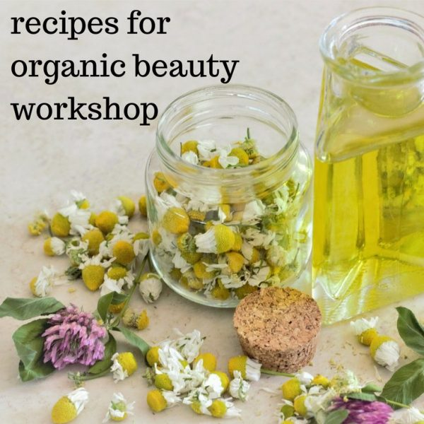 organic beauty workshop Wilmslow