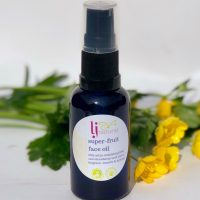super fruit face oil, handmade using just 6 fruit seed oils