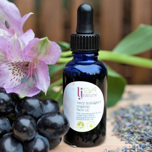 Very Indulgent Organic Face Oil