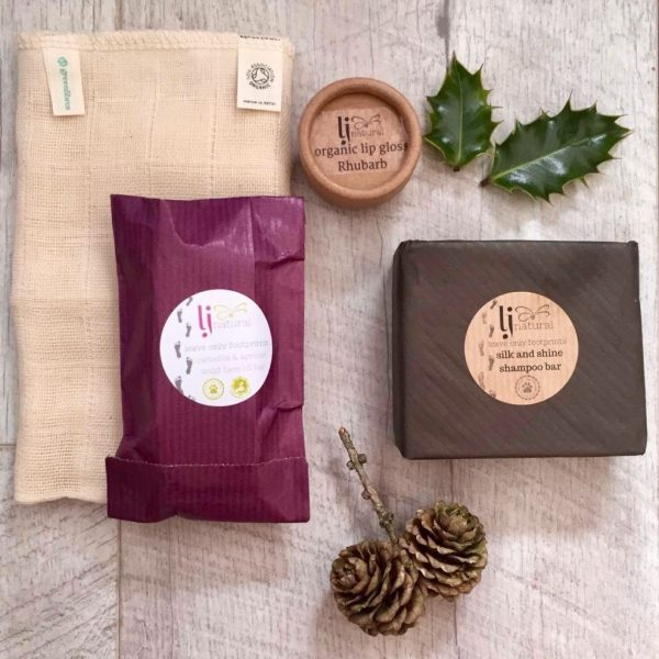 zero waste gift set handmade organic beauty products