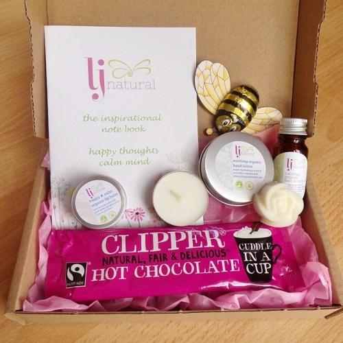 letterbox gift handmade natural skincare gift box