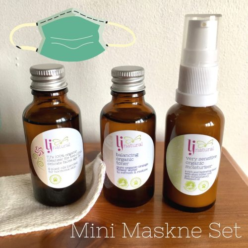 Mini Maskne Set handmade organic sustainable skincare