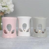 Oil Burner pink white grey