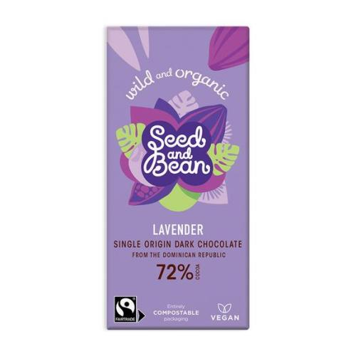 seed bean lavender chocolate