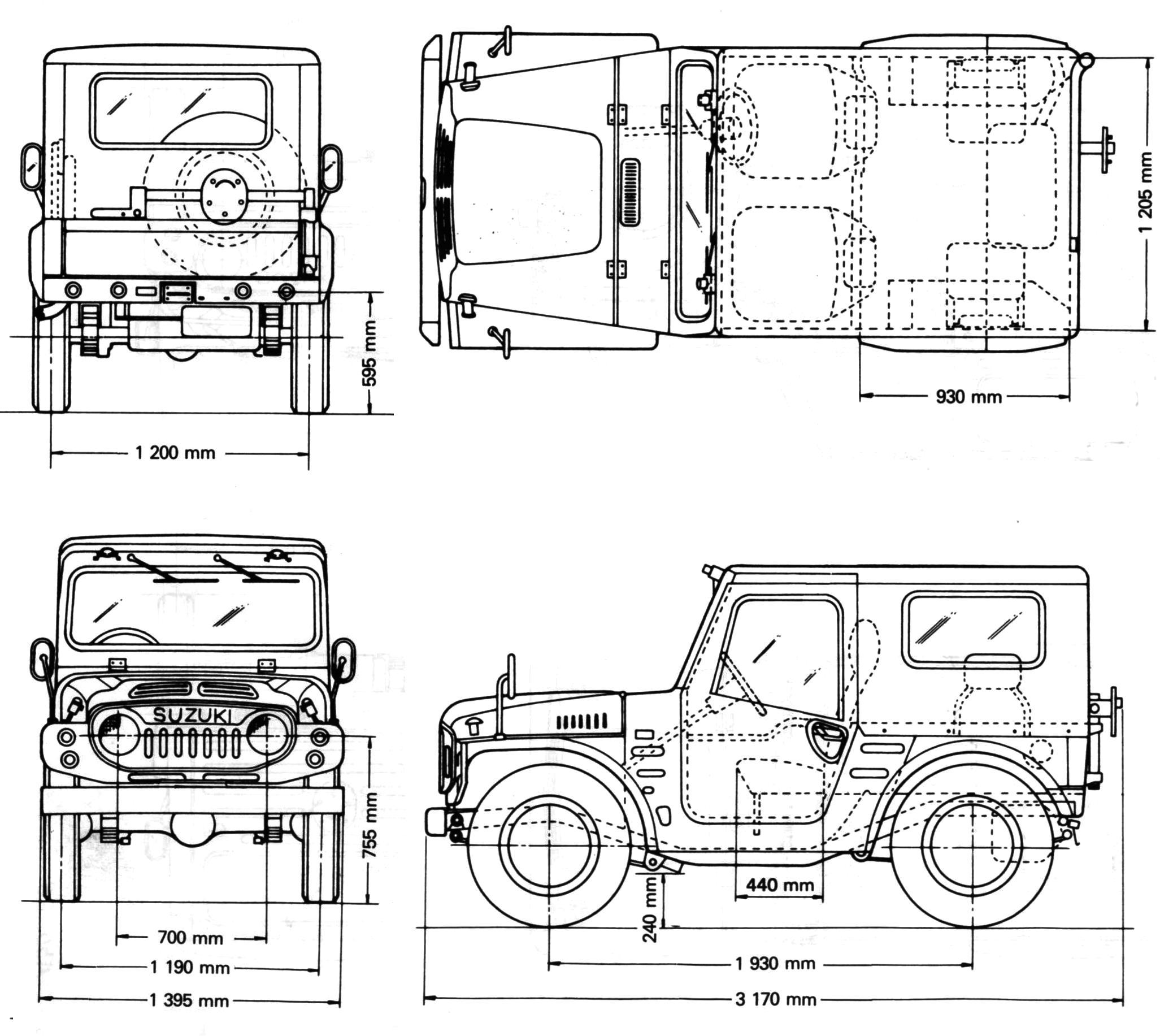 Suzuki Lj80 Ein Oloffroader Daten
