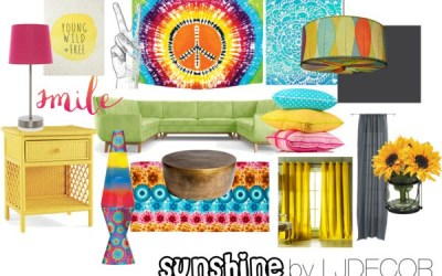 """Sunshine"" eDesign Board- Interior Decor Inspiration"