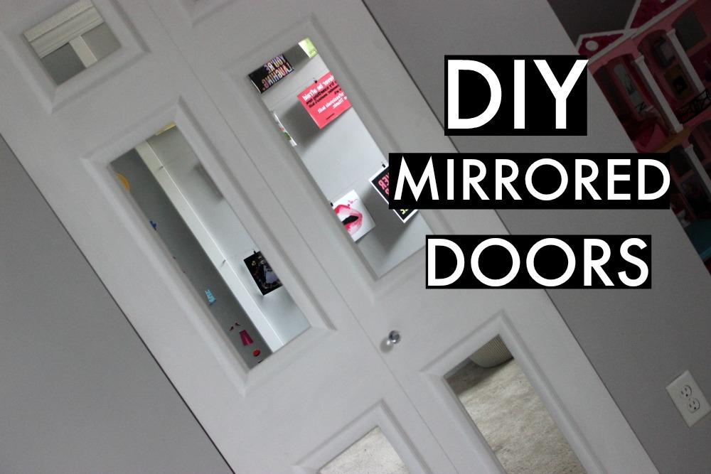 Diy Mirrored Closet Doors Ljdecor By Laci Jane
