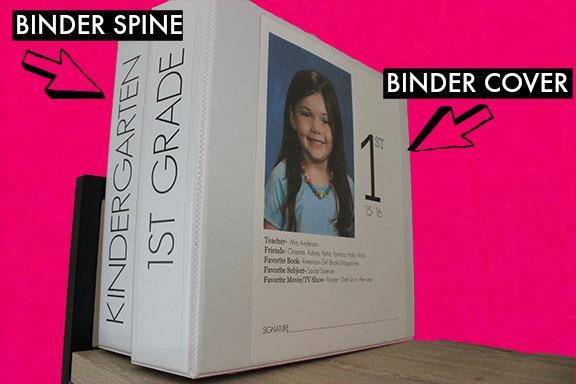 BINDER SPINE AND BINDER COVER