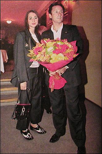 Олег Меньшиков с женой Анастасией: katja_k — LiveJournal