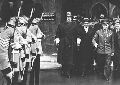 Юрий Гагарин в Англии