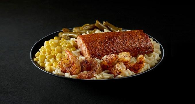 Long John Silver's » Variety Platter – Grilled Shrimp and