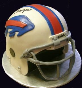 Buffalo Bills Helmet Cake