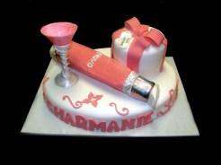 Nuvo and Gift Set Cake