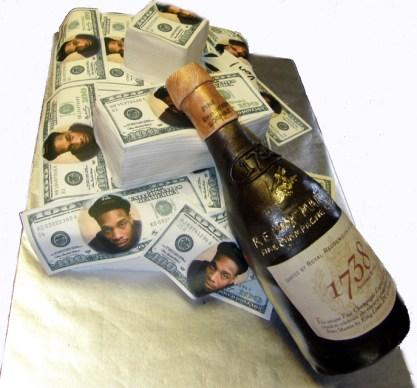 Remi Martin Cognac Cake