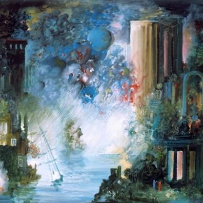 Les Conversations Artistiques sous la Tempête (2007) 89x116