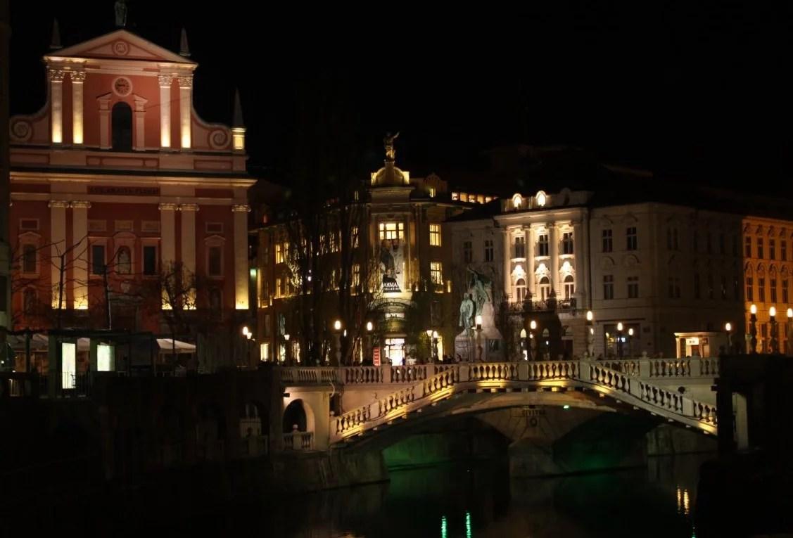 Attractions in Ljubljana