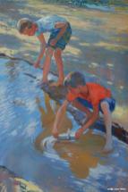 Schwimm, Schiffhen! 120x90 2012