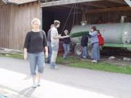 Arbeiten am Baum 23.04.2005 - 20