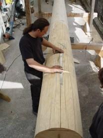 Arbeiten am Baum 23.04.2005 - 22
