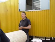 Arbeiten am Baum 23.04.2005 - 25