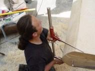 Arbeiten am Baum 23.04.2005 - 38