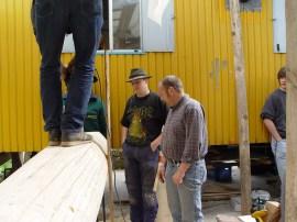Arbeiten am Baum 23.04.2005 - 48