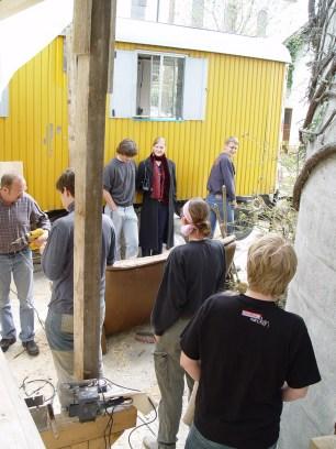 Arbeiten am Baum 23.04.2005 - 50
