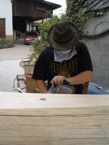 Arbeiten am Baum 23.04.2005 - 54