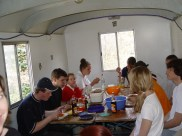 Arbeiten am Baum 30.04.2005 - 01