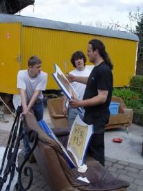 Arbeiten am Baum 30.04.2005 - 03