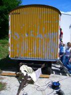 Bauwagen Herrichten 21.5.2005 - 13