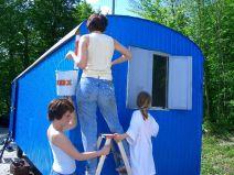 Bauwagen Herrichten 21.5.2005 - 20