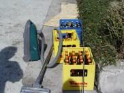 Bauwagen Herrichten 26.03.2005 - 05