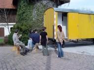 Bauwagen Herrichten 26.03.2005 - 09