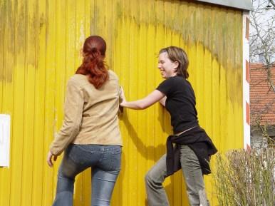 Bauwagen Herrichten 26.03.2005 - 14