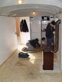 Bauwagen Herrichten 26.03.2005 - 25