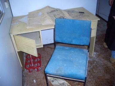 Bauwagen Herrichten 26.03.2005 - 30